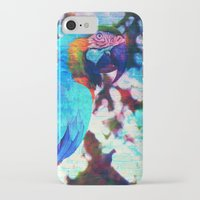 parrot iPhone & iPod Cases featuring Parrot by haroulita