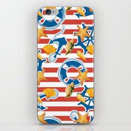summer sea iPhone Skin