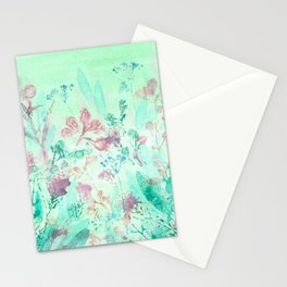 March Garden Stationery Cards