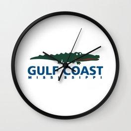 Mississippi's Gulf Coast. Wall Clock