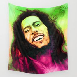 Rastafarian hero Wall Tapestry
