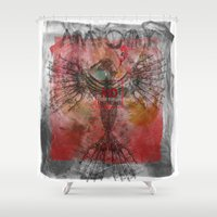 anatomy Shower Curtains featuring anatomy by kumpast