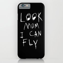 Look Mom I Can Fly Travis iPhone Case
