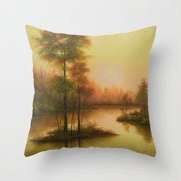 Golden Image Throw Pillow