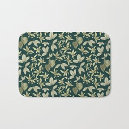 just a few leaves Bath Mat