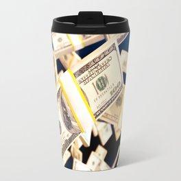 Flying dollars Travel Mug