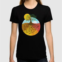 Grunge Colorful Sunrise - I Am More Than What You See T-shirt