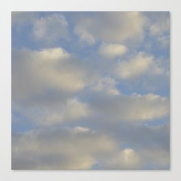 Cloudy Days Canvas Print