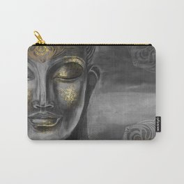 Buddha Gray Carry-All Pouch