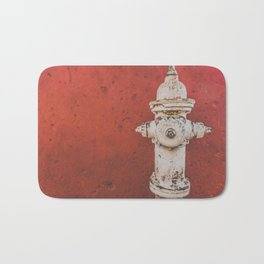 Red Tap Bath Mat