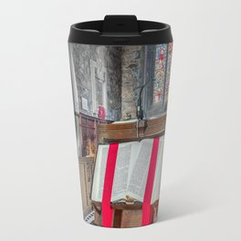 Sacred Texts Travel Mug