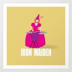 IRON MAIDEN Art Print
