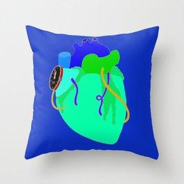 Countdown Heart Throw Pillow