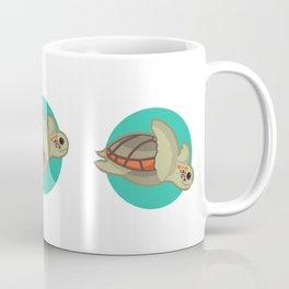 Loggerhead sea turtle Coffee Mug