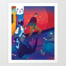 Nocturno Art Print