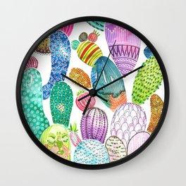 Cactus King Wall Clock