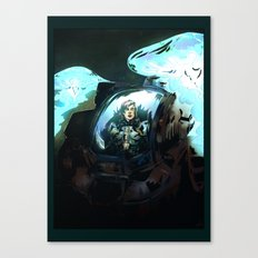 Search for Leviathan Canvas Print