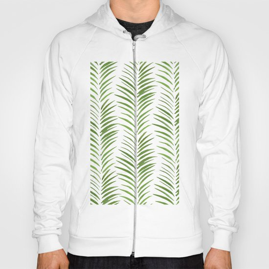 Herringbone Green Nature Pattern Hoody