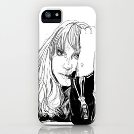 Hayley Williams iPhone Case
