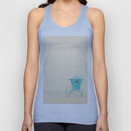 the sound of the outer ocean on the beach ... Unisex Tank Top