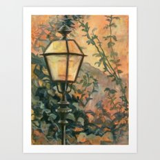 In A Lovely Place Art Print