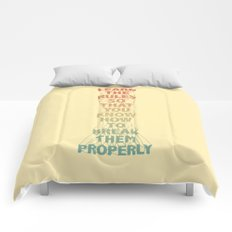Life Lesson #5 Comforters