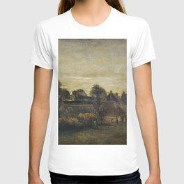 Farming Village at Twilight T-shirt