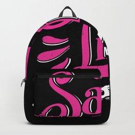 Salon Life Hairdresser Barber Hair Stylist Gift Backpack