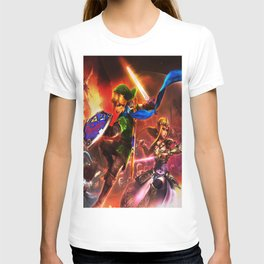 thcee fighter the legend of zelda T-shirt
