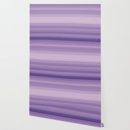 Pastel Ultra Violet Gradient Stripes Trendy Color of the year 2018 Wallpaper