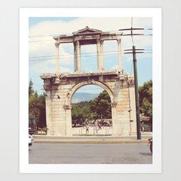 Athens 2 Art Print