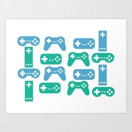 Gaming Control Tools Kunstdrucke