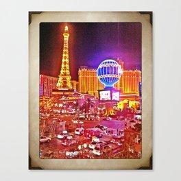 Vegas! Canvas Print