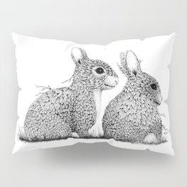 Leaf Rabbits Pillow Sham