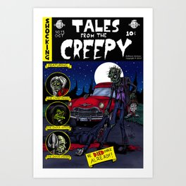 Tales From The Creepy Art Print
