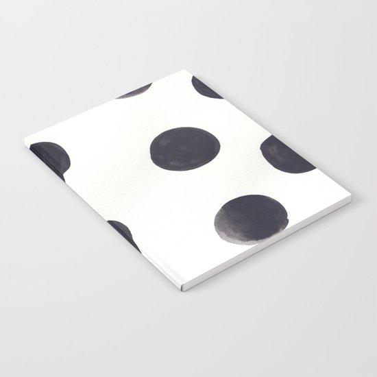 Watercolour Dots Notebook