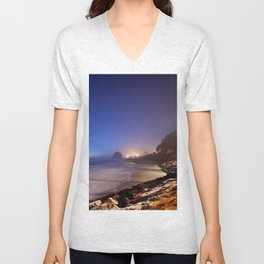 Neskowin, Oregon Unisex V-Neck