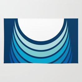 Ocean Crescent Rug