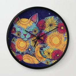 Basking Wall Clock