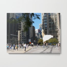 Marylin in Chicago, 2011 Metal Print