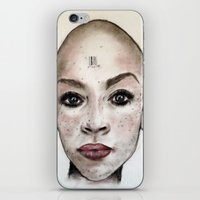 avatar iPhone & iPod Skins featuring Avatar by Courtney James