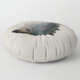 The Pacific Northwest Black Bear Floor Pillow
