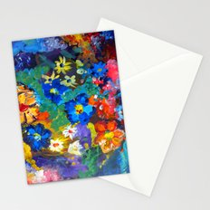 Flora Azul Stationery Cards