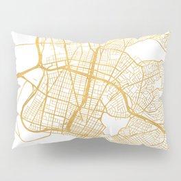 OAKLAND CALIFORNIA CITY STREET MAP ART Pillow Sham