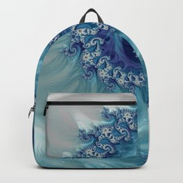 Sound of Seashell - Fractal Art Backpack