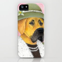 Great Dame iPhone Case