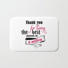 Thank You For Bath Mat