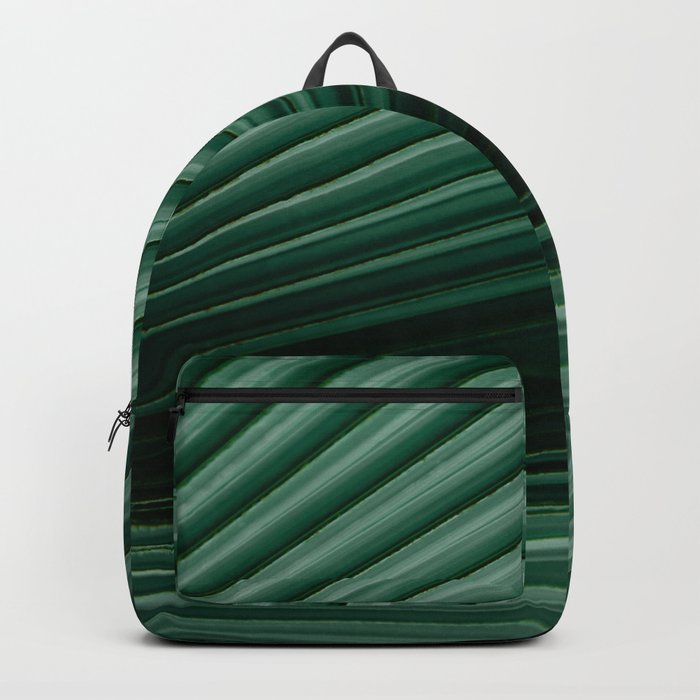 Tropical leaves 04 Backpack