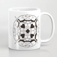 gizmo Mugs featuring Gizmo Mandala by Podridisima