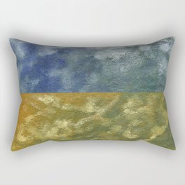 Earth and Sky Rectangular Pillow